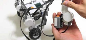 動画(フリー) ハンドリング・カー(レゴ NXT Mindstorms) Direction Control Car (LEGO NXT Education Mindstorms Bae set)